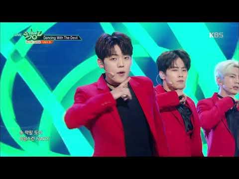 뮤직뱅크 Music Bank - Dancing With The Devil - UNI+ B.20180223