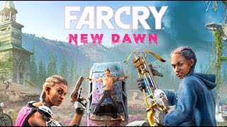 Far Cry New dawn live stream part 9 side stuff and explore the world