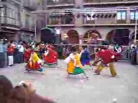 Baile típico de ecuador