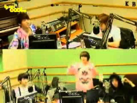 111024 - Sukira - Infinite danced to Kara's 'Step'