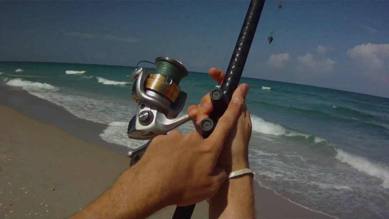 Surf Fishing - How to Cast a Surf Rod - YouTube