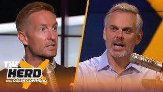 Joel Klatt on whether Mac Jones is the next Joe Burrow, Justin Fields & Ohio State | CFB | THE HERD