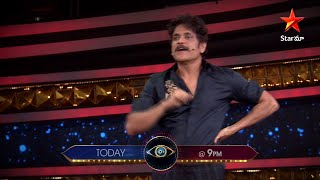 Nagarjuna on elimination moments- Bigg Boss 4 Telugu- Prom..