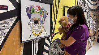 أعمال فنية عن الكلاب تعرض للكلاب في هونج كونج