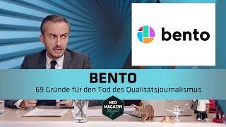 Bento - 69 Gründe für den Tod des Qualitätsjournalismus | NEO MAGAZIN ROYALE mit Jan Böhmermann