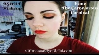 Esme   The Carnivorous Carnival   ASOUE Makeup