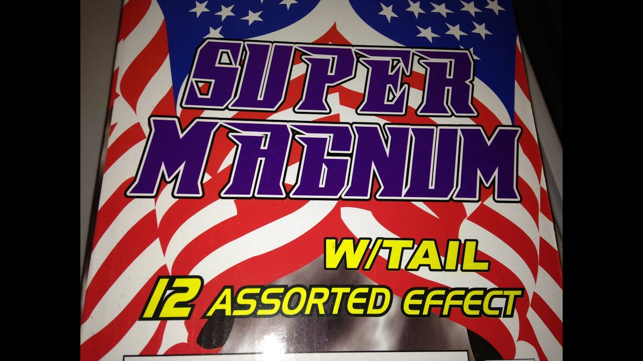Super Magnum with tail World Class Fireworks - YouTube
