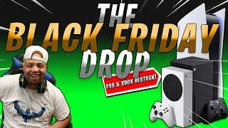 BLACK FRIDAY is ALMOST here   Let's Secure the 👜   PS5 & XBOX RESTOCK LIVE STREAM (LINKS)