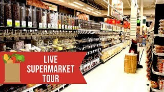 LIVE at Whole Foods | Supermarket Tour | How to Shop for Perfect Health & Fat Loss
