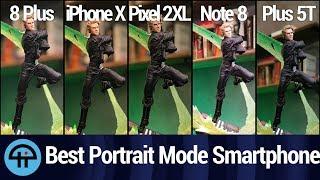 The Best Portrait Mode Smartphone