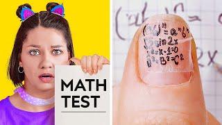 How to Survive School || Top Secret School Hacks and Cheats