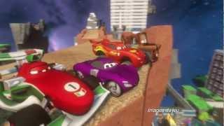 Disney infinity : découvrez le pack aventure cars :  bande-annonce VO