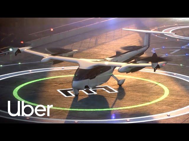 空中Taxi!Uber飛行計程車亮相 測試地點選澳洲