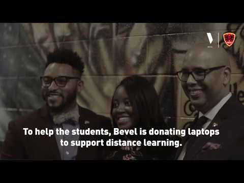 Bevel gives back to students at Chicago's Urban Prep.