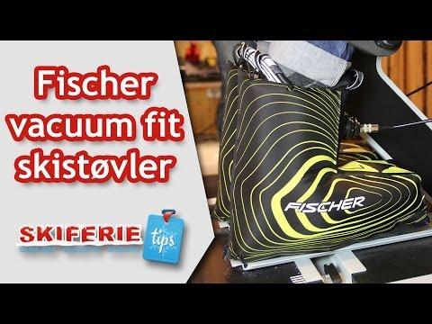 Test af Fisher Vacuum Fit skistøvler