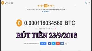 Tổng hợp những web rút được tiền và không rút được tiền 23/9/2018