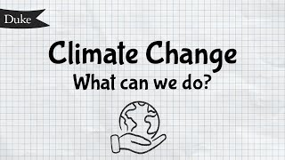 Climate Change: What Can We Do? | Quick Learner video