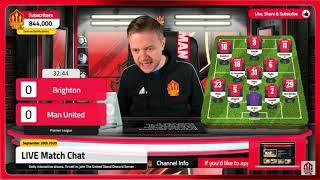 Man United 3-2 Brighton Mark Goldbridge BEST BITS