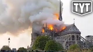 Notre Dame Cathedral Tragically Burns
