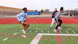 Workout Wednesday: Dajour Miles - Sled Pulls And Circuits