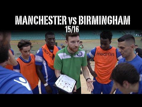 Manchester Futsal Club vs Birmingham Futsal Club 15/16