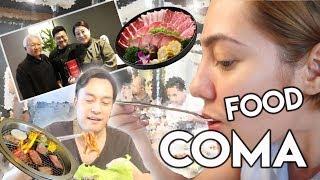 ANG PINAKABEST KOREAN RESTO SA MANILA! ( WARNING! PURO PAGKAIN! ) | Nina Rayos 💋