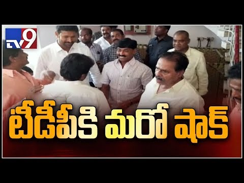 Ex-TDP MLA Veera Siva Reddy joins YSRCP; Secretly extended support to Jagan party in polls
