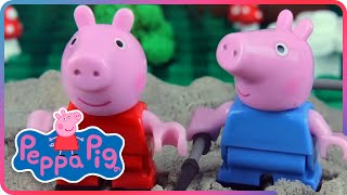 ♥ Peppa Pig & Lost Teddy Bear on the Playground (Episode 9)