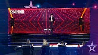 Tomás Sanjuán vuelve a engañar al jurado con su magia | Semifinal 5 | Got Talent España 2018