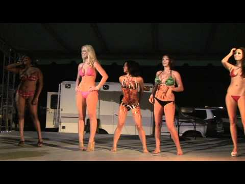 Bikini Contest at Cyclepalooza 2011 in Palm Beach County Florida