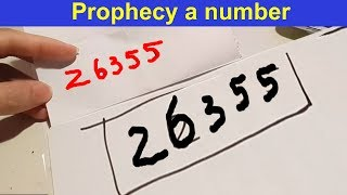 Awesome Magic Trick With Numbers That Will Blow Your Mind [Magic tutorials #31]