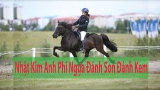 Nhật Kim Anh Đi Ngựa Đánh Son Và Kem Ban Ngày So Cute Ở Đà Lạt