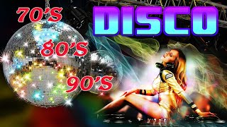 Nonstop Disco Hits 80 90 Greatest Hits - Best Eurodance Megamix - Nonstop Disco Music Songs Hits