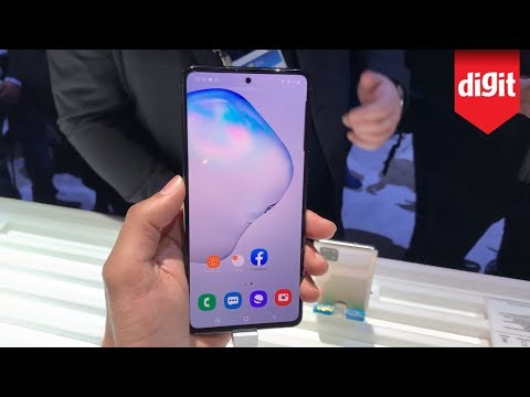 Heres A Quick Look At The Samsung Galaxy Note 10 Lite