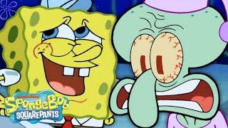7 Reasons Why SpongeBob is the Worst Neighbor Ever! 🍍 #BestSpongeBobMoments