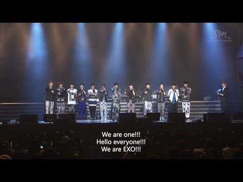 EXO_SHOWCASE HD Full version Part 1_ENG
