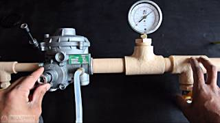 OPSO Gas Pressure Reg - Part 3 Adjusting the OPSO