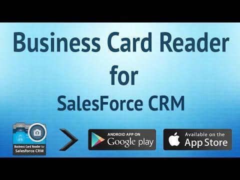 Businesscard reader salesforce 11120 baixar apk para android aptoide video businesscard reader salesforce reheart Gallery