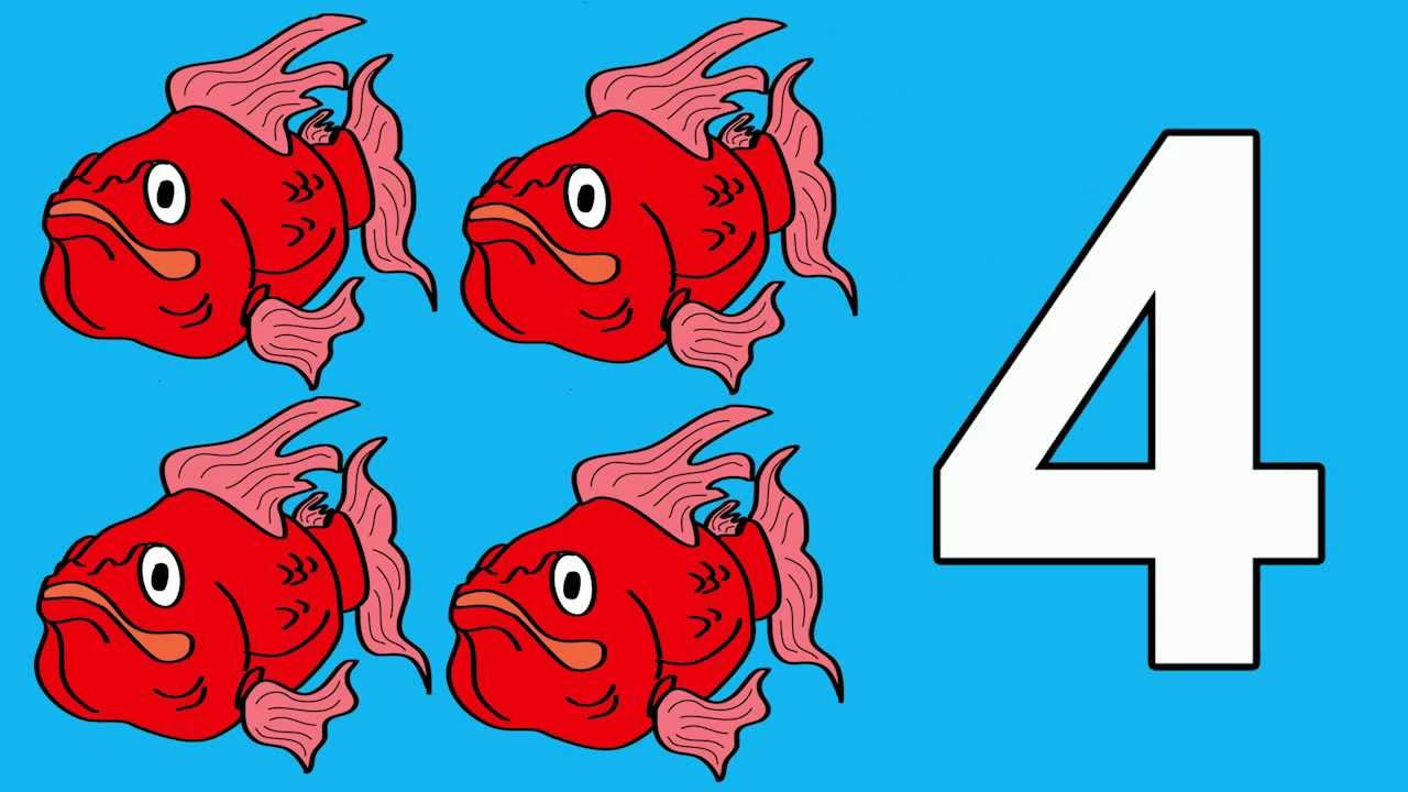 Fishy Numbers 1 To 10: Count Fishy Numbers 1 To 10 Stories