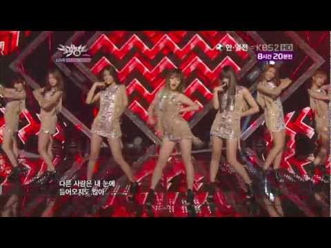 【1080P】AOA- ELVIS @ Debut Stage (10 Aug,2012)