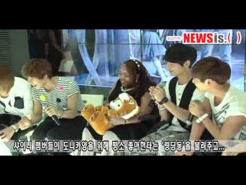 [120620] SHINee 샤이니 Meets Donica Sterling