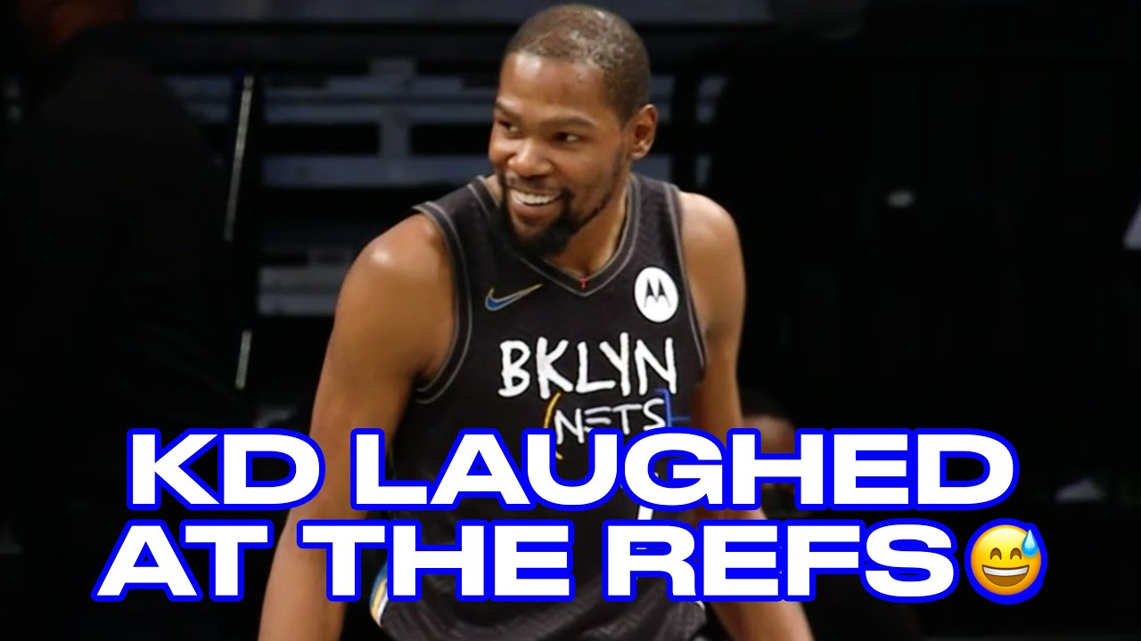 Watch KD's Reaction After The Refs Reversed Zion Williamson's Charge Call On Him
