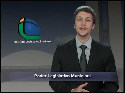 Apresentação O Poder Legislativo Municipal