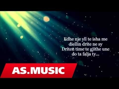 Alban Skenderaj - Vetem Ty (Official Lyric Video)