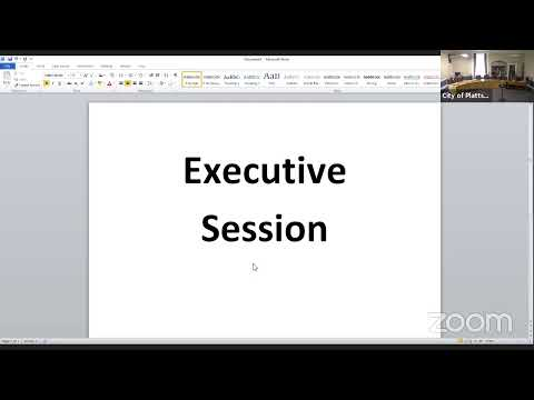 Plattsburgh City Operations Committee Meeting  7-12-21