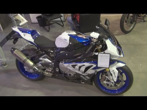 BMW Motorrad HP4 (2016) Exterior and Interior in 3D