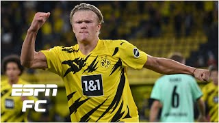 EVERY Erling Haaland touch from Borussia Dortmund's 3-0 win over Gladbach | Bundesliga Highlights