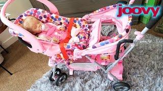 Joovy Toy Caboose Reborn Baby Doll Stroller