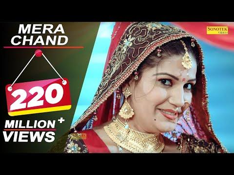 Sapna Chaudhary : Mera Chand || Latest Haryanvi Romantic Song || New Haryanvi Song 2018 || Sonotek
