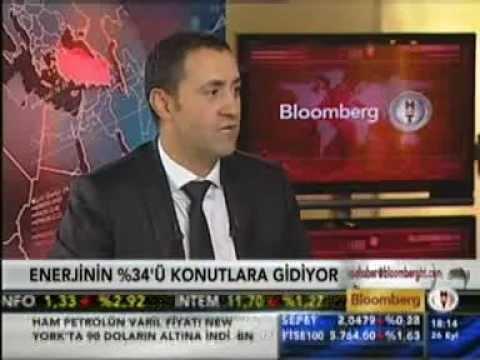Genel Müdür Yardımcımız Alper Doğruer,  Bloomberg HT Kanalı'nda